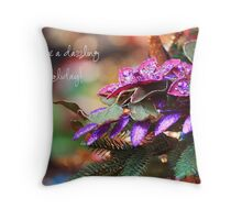 Dazzling holiday Throw Pillow