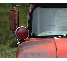 Rusty Red 1 Photographic Print