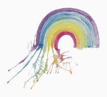 Watercolour Rainbow One Piece - Long Sleeve