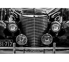 1939 Cadillac Photographic Print
