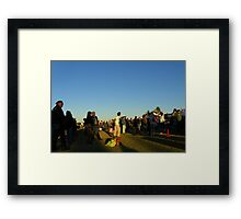 They Came For The Music... Framed Print