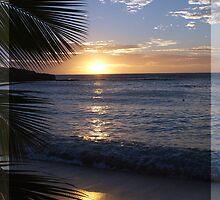 Sunset @ Barefoot Island 2 by bombamermaid