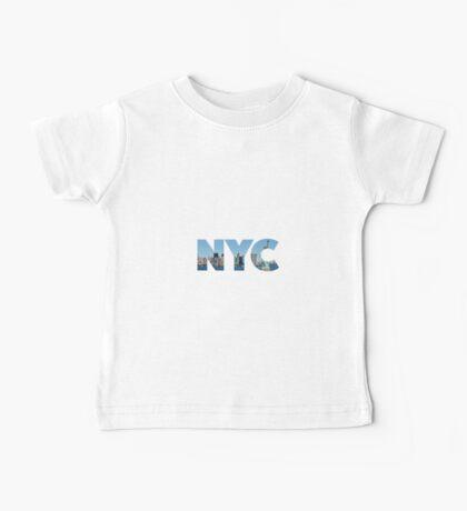 New York City - NYC - U.S.A Baby Tee