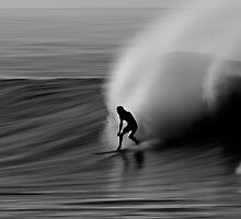 Surfer Silhouette by David Orias
