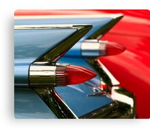 Cadillac Taillights Canvas Print