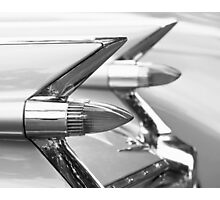 Caddy Taillights Photographic Print