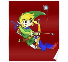 Toon Link Warrior Poster