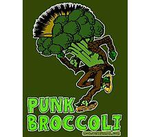 punk broccoli Photographic Print