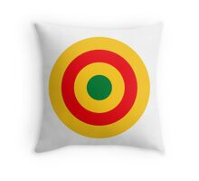Roundel of the Rwandan Air Force  Throw Pillow