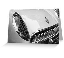 Old Vette Greeting Card
