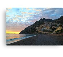 Positano, Italy by Day Canvas Print