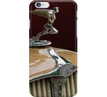 1931 Auburn Hood Ornament iPhone Case/Skin