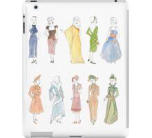 Dress through the Decades iPad Case/Skin