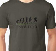 Evolution of runner Unisex T-Shirt