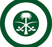 Roundel of the Royal Saudi Air Force by abbeyz71