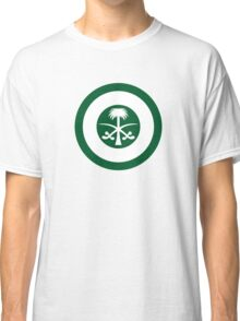 Roundel of the Royal Saudi Air Force Classic T-Shirt