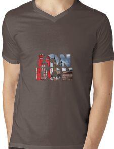 London - UK - Great Britain Mens V-Neck T-Shirt
