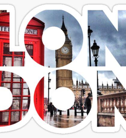 London - UK - Great Britain Sticker