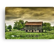 The Starting Point Canvas Print