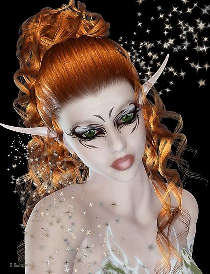 Portrait of Anya by Barbara A. Boal