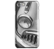 Monotone Buick Tryptych iPhone Case/Skin