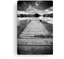 Above and Behind Canvas Print
