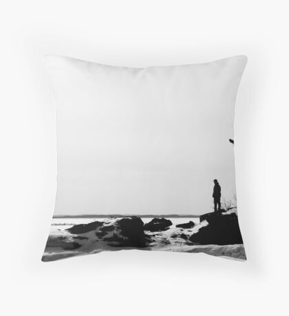 A Small World After All Throw Pillow