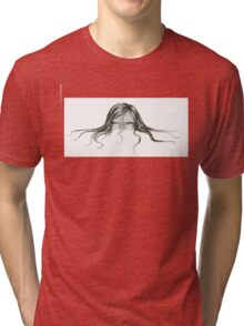 I cried you a river, and you watched me drown Tri-blend T-Shirt