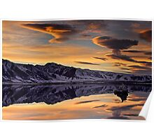 Mono Lake Sunset Poster