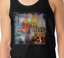 New York Times Square and Taxi Series #49 Tank Top