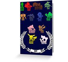 Super Smash Bros-Senior Class '99 Greeting Card