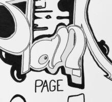 Blank Page Sticker