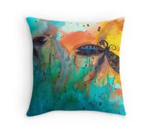Attracted Throw Pillow