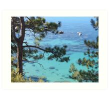Tranquil Turquoise Waters Art Print