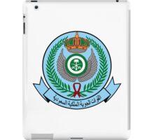 Emblem of the Royal Saudi Air Force  iPad Case/Skin