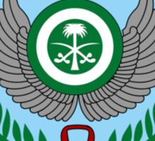 Emblem of the Royal Saudi Air Force  Sticker