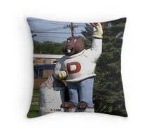 Amisk the beaver Throw Pillow
