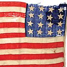 Tattered Flag by huliodoyle