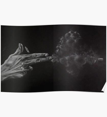 Hand Gun Poster