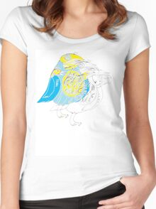 "BIRD SHIRT ""AND I THINK WE CAN ALL AGREE"" Women's Fitted Scoop T-Shirt"