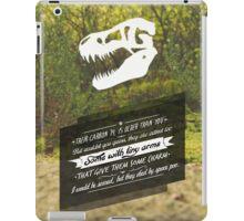 Dino Typo iPad Case/Skin