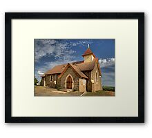 Currawong Church Framed Print
