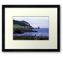 Near Harbour Grace Framed Print