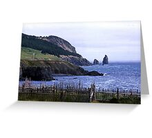 Near Harbour Grace Greeting Card