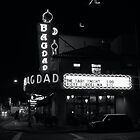 Bagdad Theater Portland Oregon by Chris  Tolomei