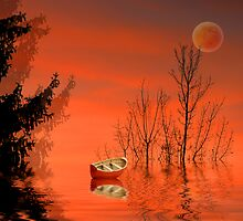 Ghostly Forest by digitalmidge