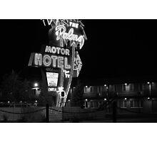 Palms Motor Hotel, Portland Oregon Photographic Print