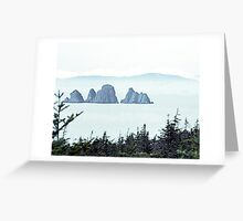 Cavendish, Trinity Bay, Newfoundland Greeting Card