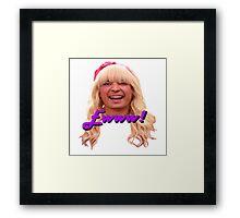 Jimmy Fallon Ewww Framed Print