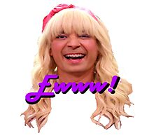 Jimmy Fallon Ewww Photographic Print